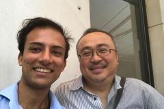 Avec  Dang Thaï Son