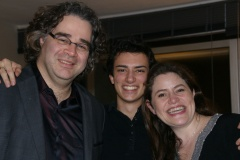 Avec Pascal Amoyel et Emmanuelle Bertrand