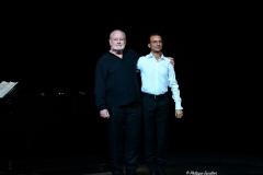 Avec Michel Voletti